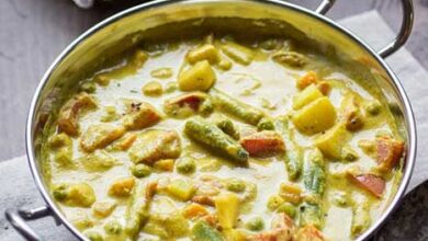 Photo of Crema de verduras korma